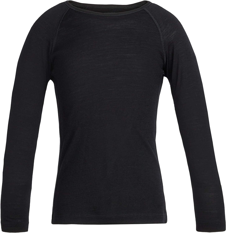 Icebreaker Merino Unisex-Child 200 Oasis Merino Wool Base Layer Long Sleeve Shirt