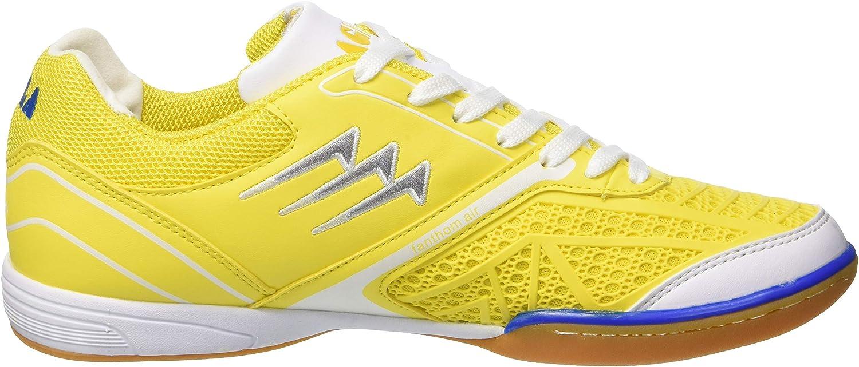 25/cm//40 Blanc//Jaune Agla fanthom Chaussures de Futsal Outdoor
