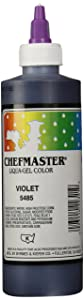 Chefmaster Liqua-Gel Food Color, 10.5-Ounce, Violet