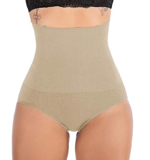 Fast shipping FIRSTLIKE Womens High Waist Control Panties Seamless Shapewear Thigh Slimmer