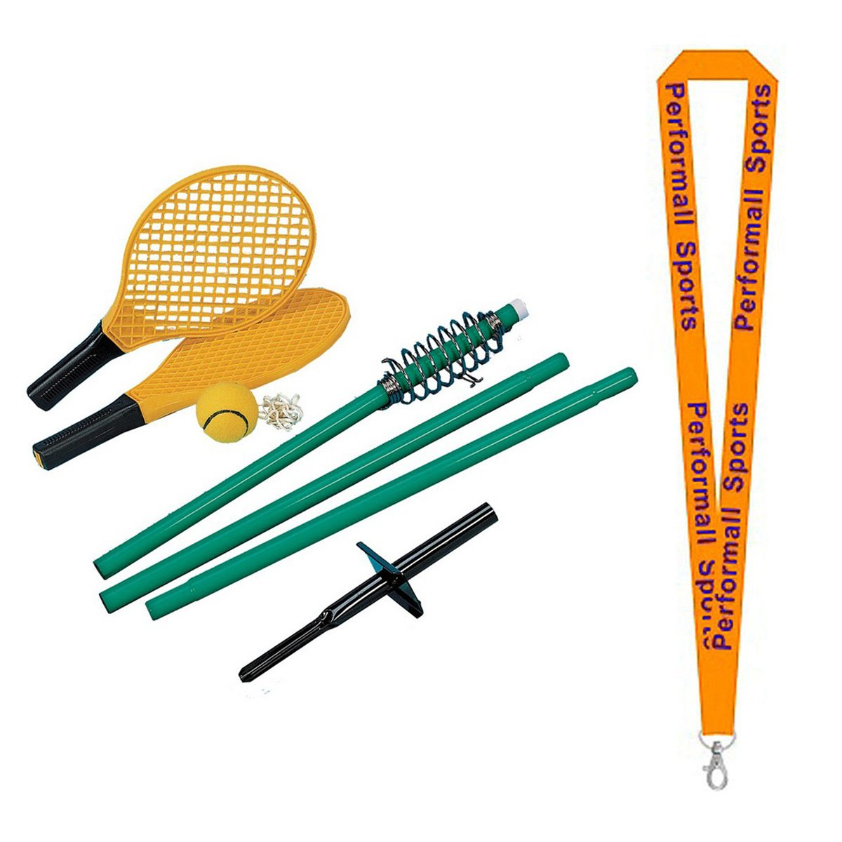 Champion Sports Tether Tennisゲームセットwith 1 performall Lanyard ttgame-1p B01FSZ520Y