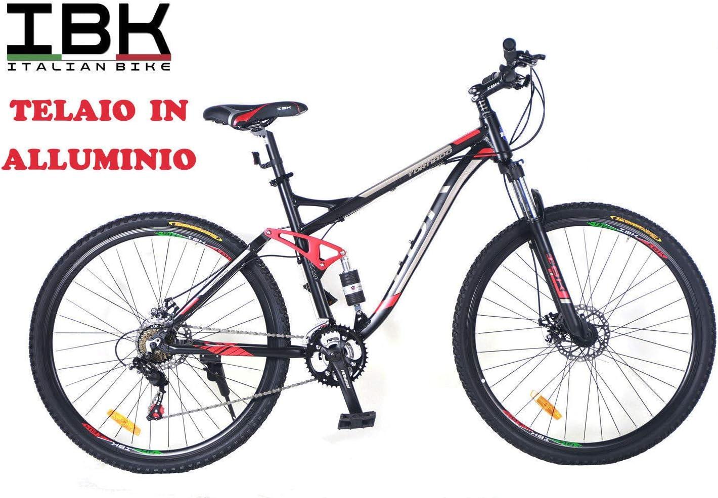 IBK - Bicicleta 29 Tornado Shimano 21 V, Frenos de Disco, Color ...