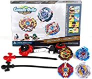 Bey Blade Battling Top Combat Gyro Burst Toys for Kids Children Teens Gifts Birthday Graduation | Battling Tops x4; Power La