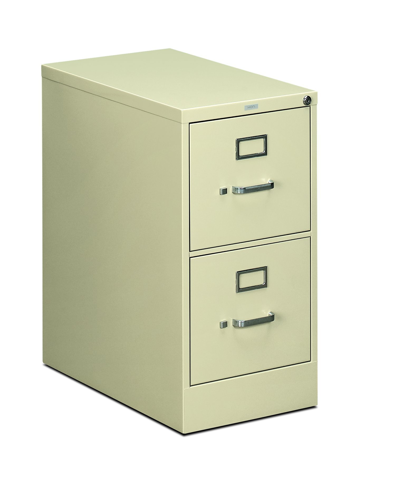 HON Two-Drawer Filing Cabinet- 510 Series Full Suspension Letter File Cabinet, 29 by 15-inch, Putty (H512) by HON