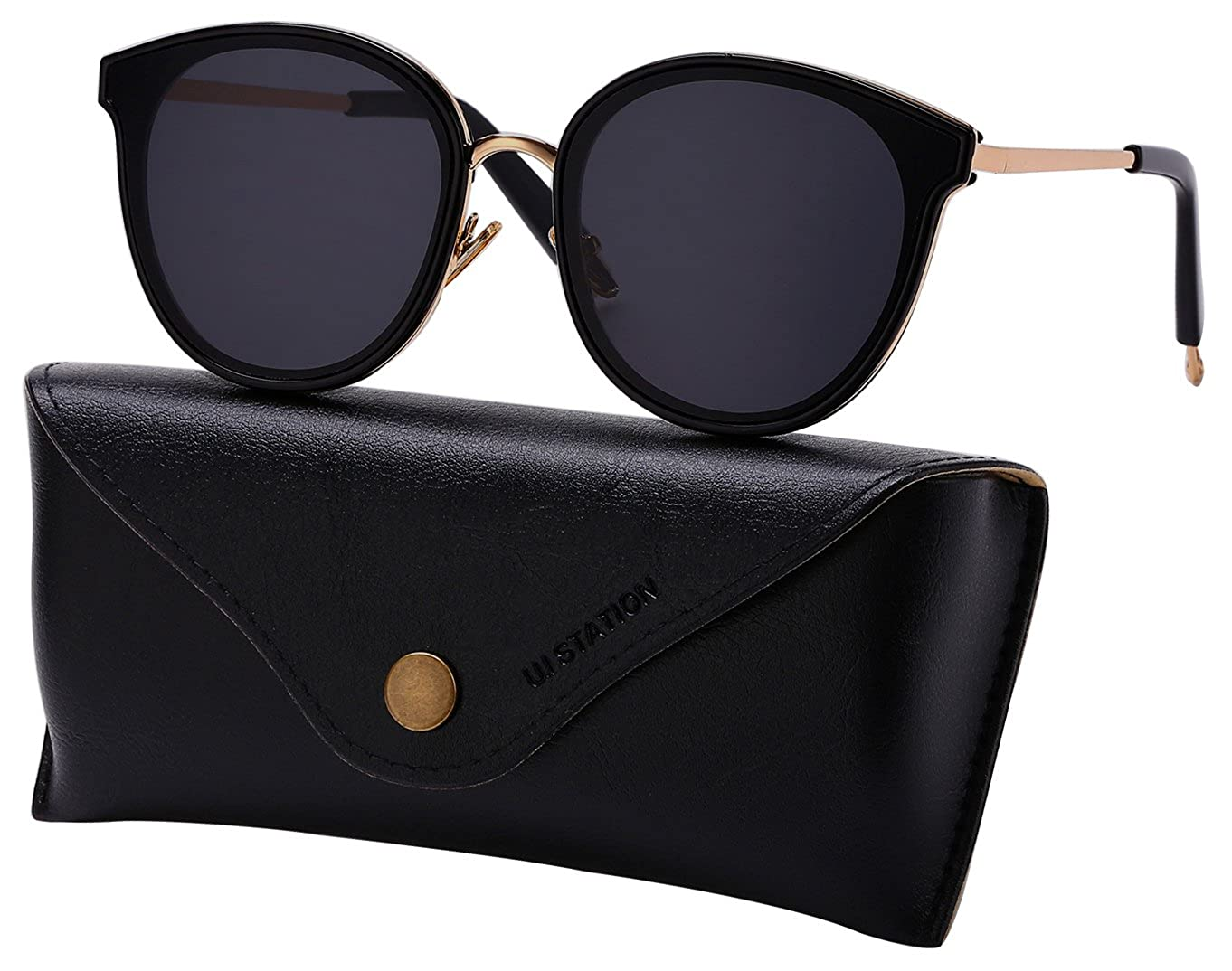 3ded90466ecb Amazon.com  Oversized Mirrored Sunglasses for Women