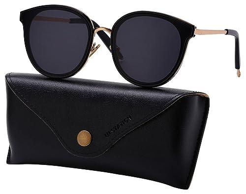 25ae3ade59e Amazon.com  Oversized Mirrored Sunglasses for Women