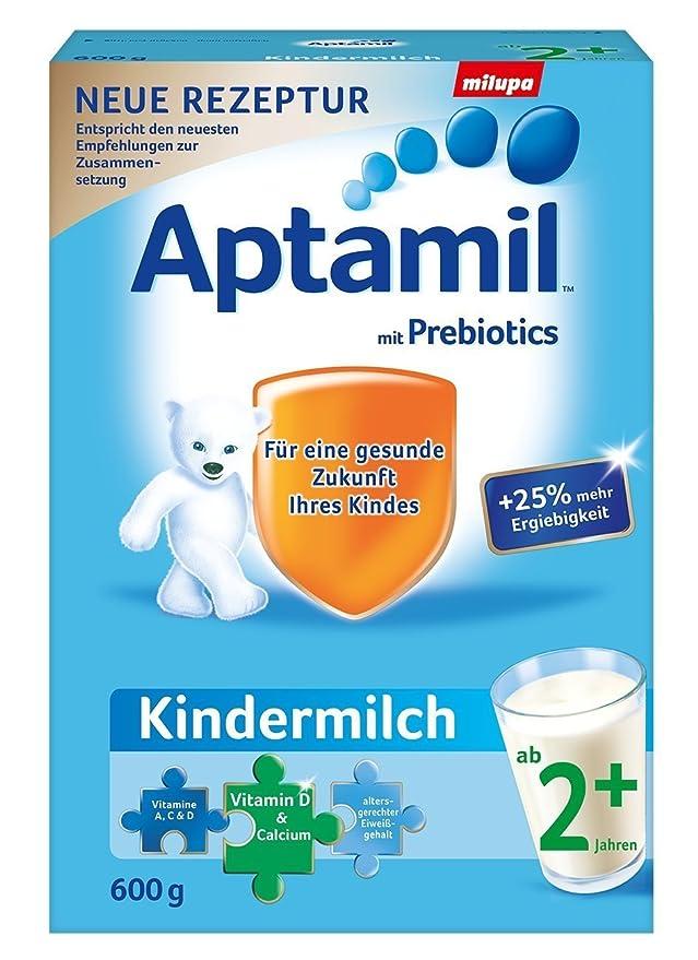 La leche Aptamil niños 2+ desde el segundo año, 12-pack (12 x 600g): Amazon.es: Alimentación y bebidas