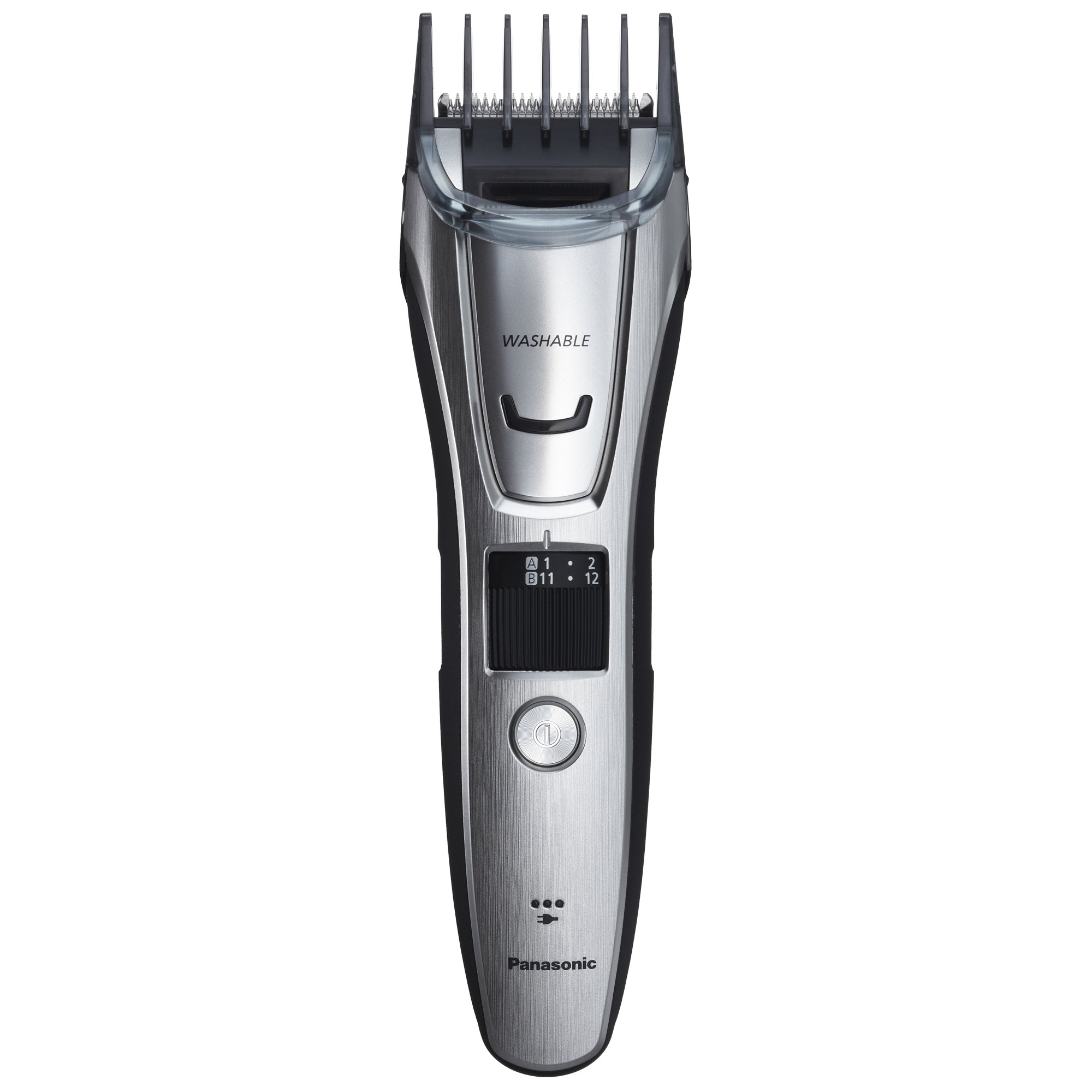 Panasonic ER-GB80-S Body and Beard Trimmer, Hair Clipper, Men's, Cordless/Corded Operation with 3 Comb Attachments and 39 Adjustable Trim Settings, Washable by Panasonic (Image #5)