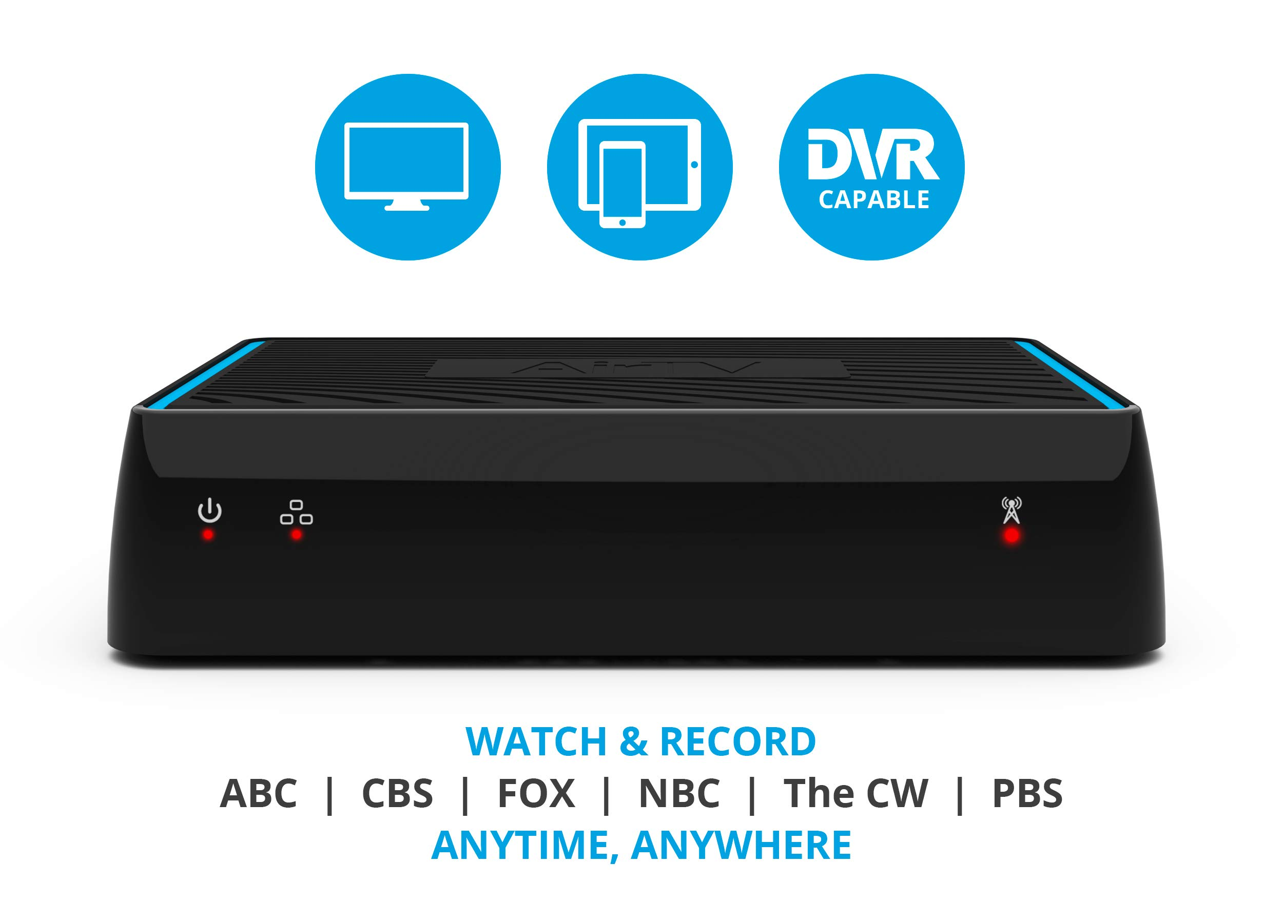 AirTV   Dual-tuner Local Channel Streamer for TVs and Mobile Devices   DVR Capable   Built for Sling TV