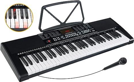Yamaha PSR-EZ220 Keyboard Einsteiger-Keyboard mit LEUCHTTASTEN-FUNKTION