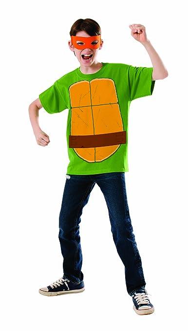 Kit disfraz de Michelangelo Las Tortugas Ninja para niño - 5 ...