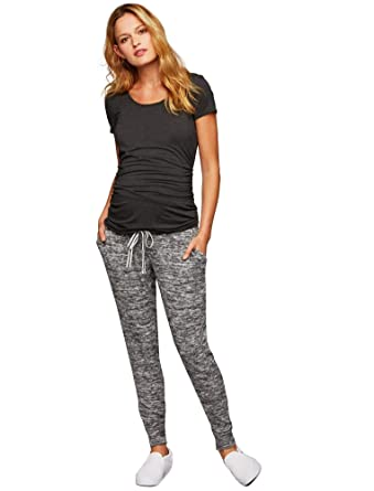76bfca2a4ff9a A Pea in the Pod Under Belly French Terry Maternity Jogger Pant at ...