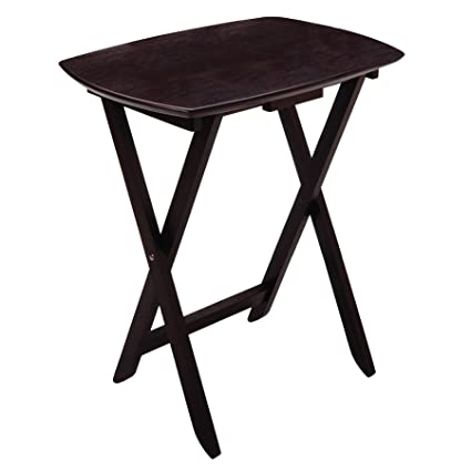 Amazon.com: Winsome Wood Single Oversized TV Tables, Oblong ...