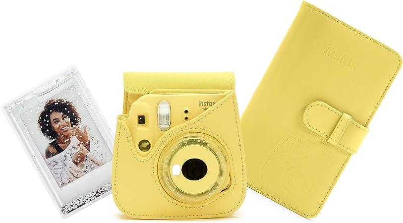 Fujifilm Instax Mini 9 Accessory Kit Clear Yellow Elektronik