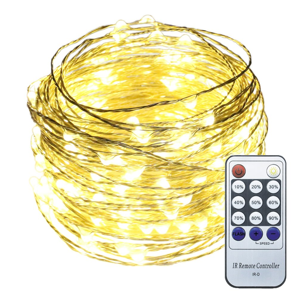 ER CHEN(TM) 66ft Led String Lights,200 Led Starry