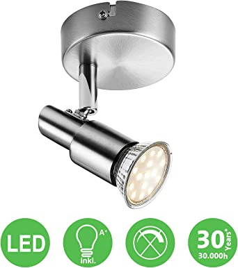 IMPTS LED Deckenlampe Strahler Spot Leuchte 2-flammig Deckenleuchte IP44 GU10