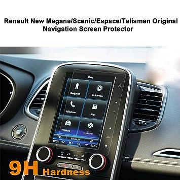 lfotpp - Protector de pantalla para Renault Nuevo Megane/Scenic/ESPACE/Talisman Sistema de navegación: Amazon.es: Coche y moto