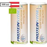 PROTEINVITAL Huevo en polvo - 1000g CRÍA BIOLÓGICA - 100% natural de Austria - Neutro