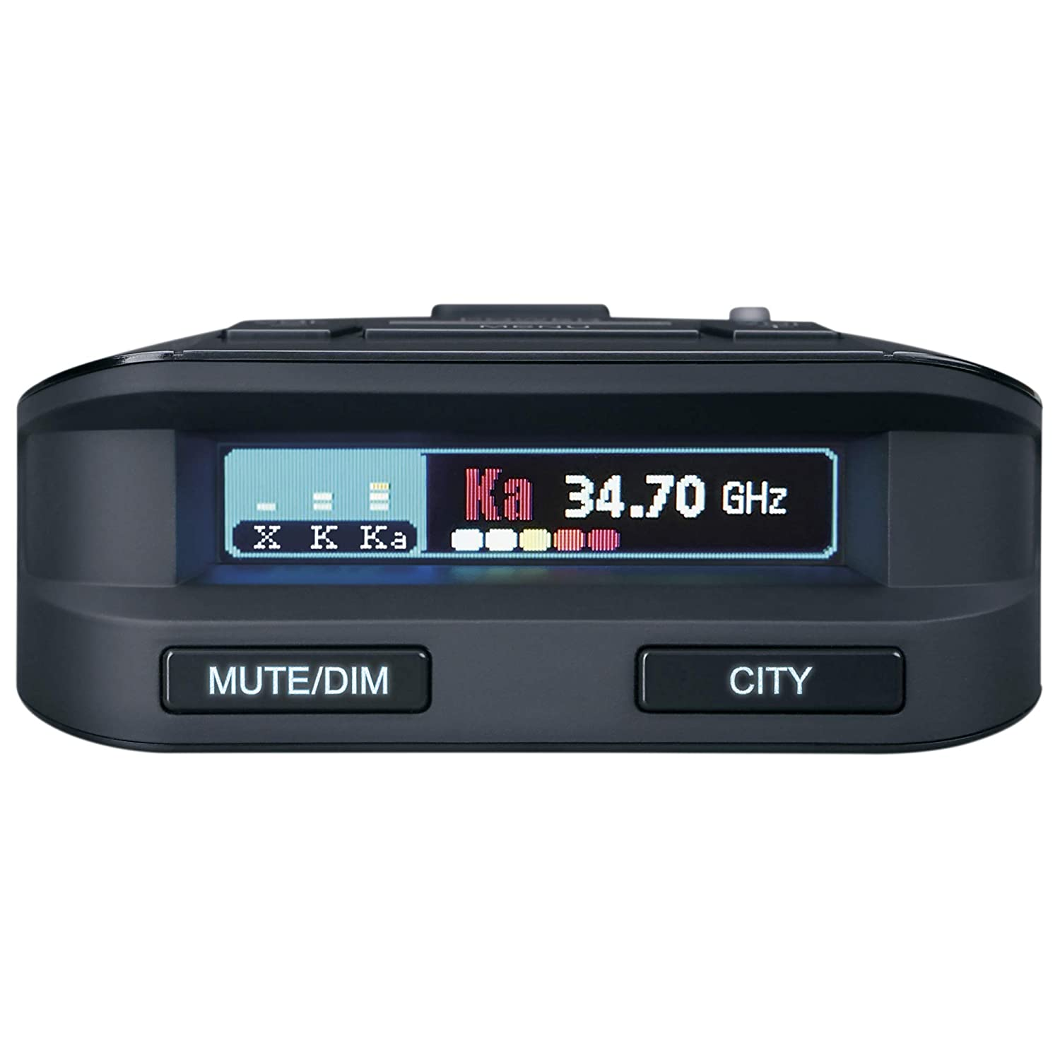 Ultra-Bright Multi-Colored OLED Display Plus Hard Wire Kit Advanced K//KA Band Filter Voice Notifications Uniden DFR8 Super Long Range Laser and Radar Detection