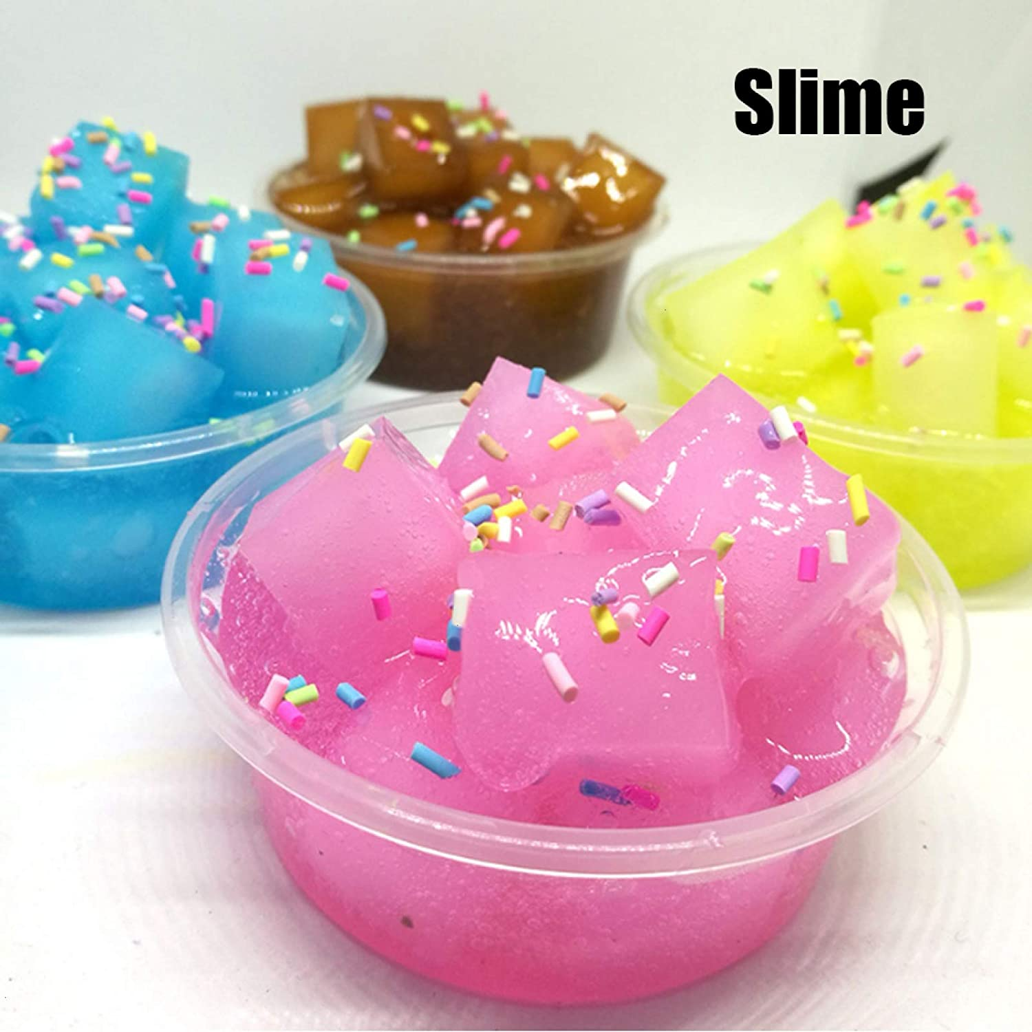 Timoo Fake Sprinkles, Fake Candy Decorations for Slime