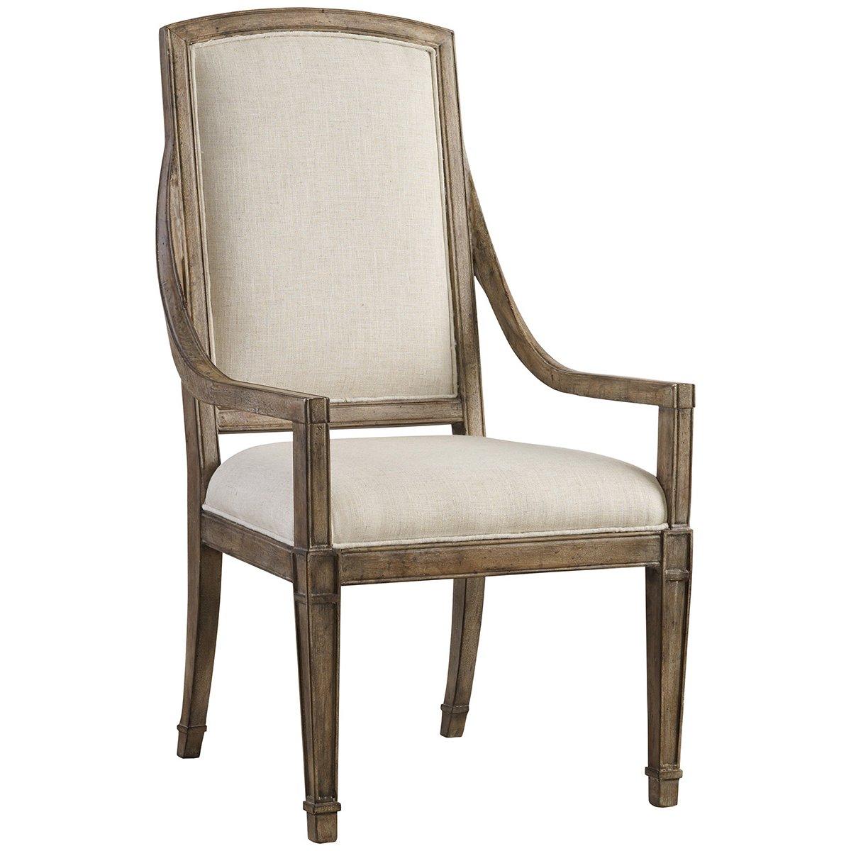 Amazon com hooker furniture solana host chair in light oak chairs