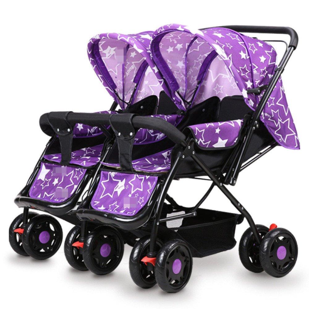 ZHXUANXUAN Mellizos Baby Trolley Ligero Amortiguador El Bebé Puede ...