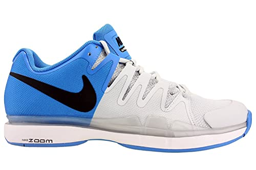 Nike Mens Zoom Vapor 9.5 Tour Tennis Shoes Photo Blue/Black/Platinum 631458-
