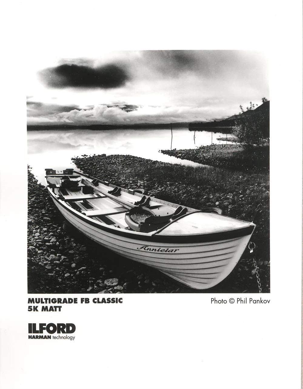 Ilford Multigrade FB Classic Matte Variable Contrast Paper 5 x 7, 100 Sheets