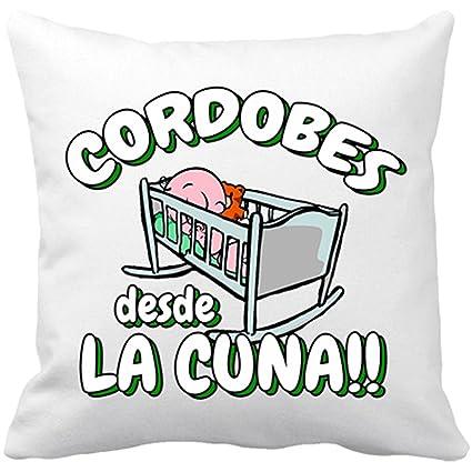 Cojín con relleno Cordobés desde la cuna Córdoba fútbol ...