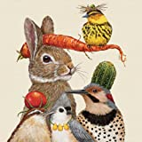 """Paperproducts Design PPD 1332588 Harvest Party Lunch Paper Napkins, 6.5"""" x 6.5"""", Multicolor"""