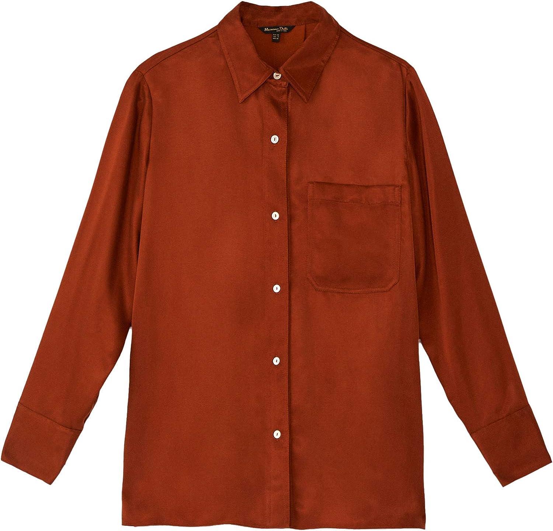 MASSIMO DUTTI 5138/532/735 - Camisa para Mujer con ...