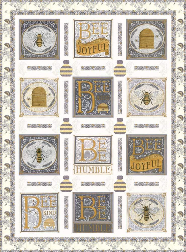 Deb Strain Bee Joyful Buzz Buzz Quilt Kit Moda Fabrics KIT19870