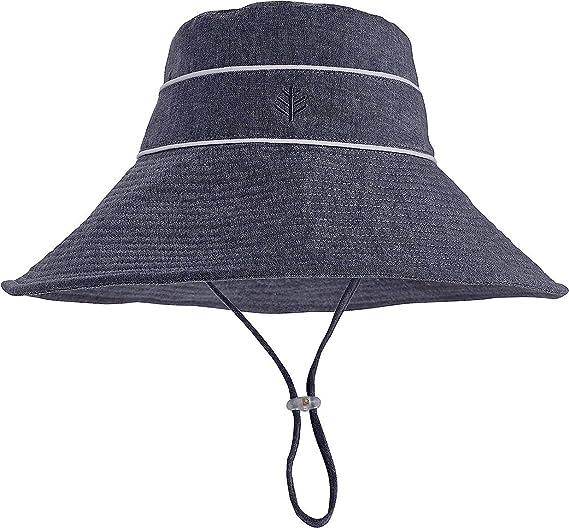 16b6767c Amazon.com: Coolibar UPF 50+ Girl's Sand Castle Sun Hat - Sun Protective:  Clothing