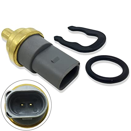CBK Coolant Temperature Sensor Water Temp Switch w Clip O-Ring for VW Volkswagen Beetle