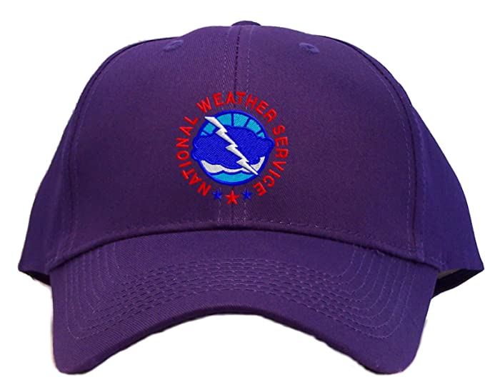 Amazon.com  National Weather Service Embroidered Baseball Cap ... 817d8bdddff2