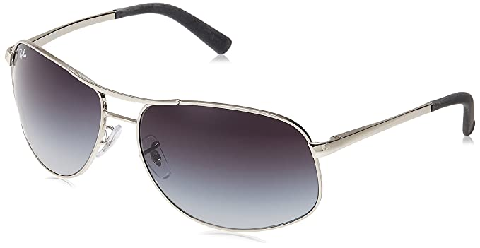 1e9c9d2c7e1 Ray-Ban Aviator Sunglasses (Stainless Steel) (RB3387