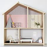 Ikea Flisat Puppenhauswandregal Aus Massivholz Amazonde Spielzeug