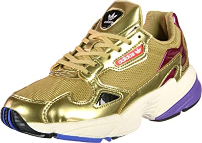 size 40 1b714 1e48a Image Unavailable. Adidas Shoes Falcon W Gold 42