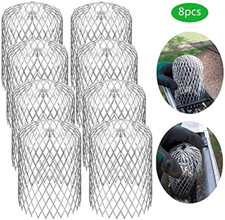 Banane 4x Downpipe Protection Cap Leaf Protection Gutter Guard 3 Inch Mesh Gutter Downpipe Guard For Sheets And Rain Filter Gutter Screen Covers 4 Packs 8pcs Amazon Co Uk Kitchen Home