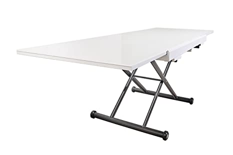 Amazon.com: ALTURA AJUSTABLE extensible mesa de centro ...