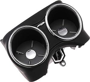WLFINKMO Dual Cup Holder Bracket Drink Bottle Hold for Mercedes-Benz CLS63 CLS55 AMG CLS550 CLS500 C219 2006-2011, Black
