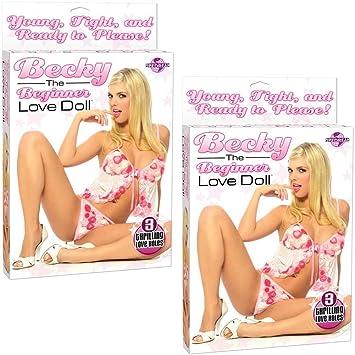 Amazon.com: Becky el Principiante Babe Amor muñeca (2 ...
