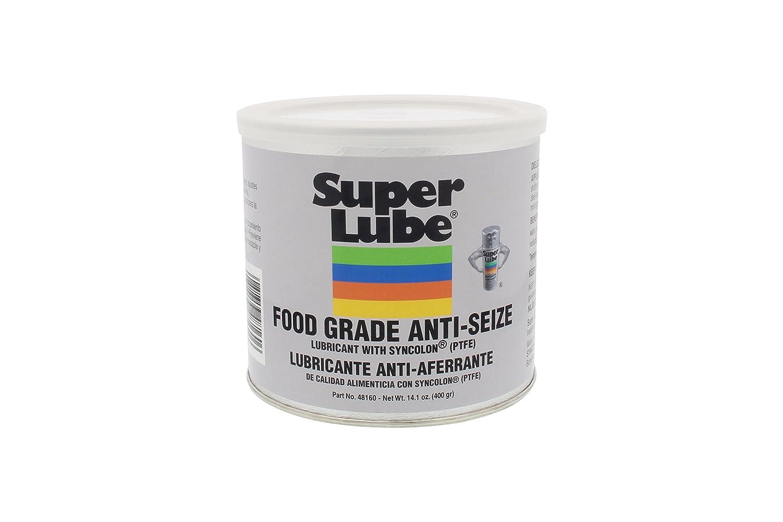 Super Lube 48160 Super Lube Food Grade Anti-Seize w/Syncolon (PTFE), Translucent White