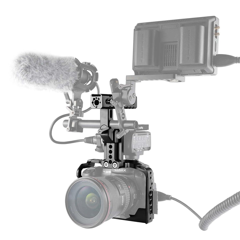 and standard Threads Per Panasonic Lumix Camera versione aggiornata Cold Shoe SMALLRIG Cage GH5 // GH5S Gabbia With Integrato NATO Rails - 2049