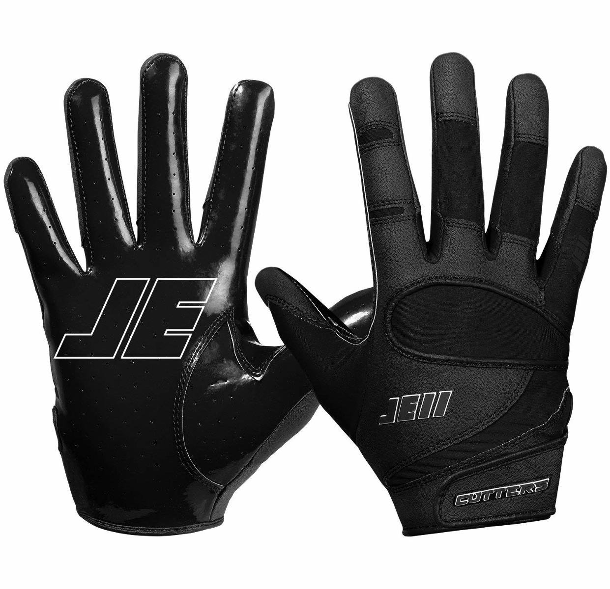 Cutters Gloves Signature Gloves, Black, Small