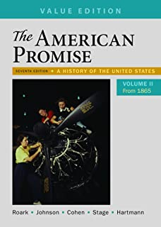 Amazon the american promise value edition volume 2 from 1865 the american promise value edition volume 2 a history of the united states fandeluxe Gallery