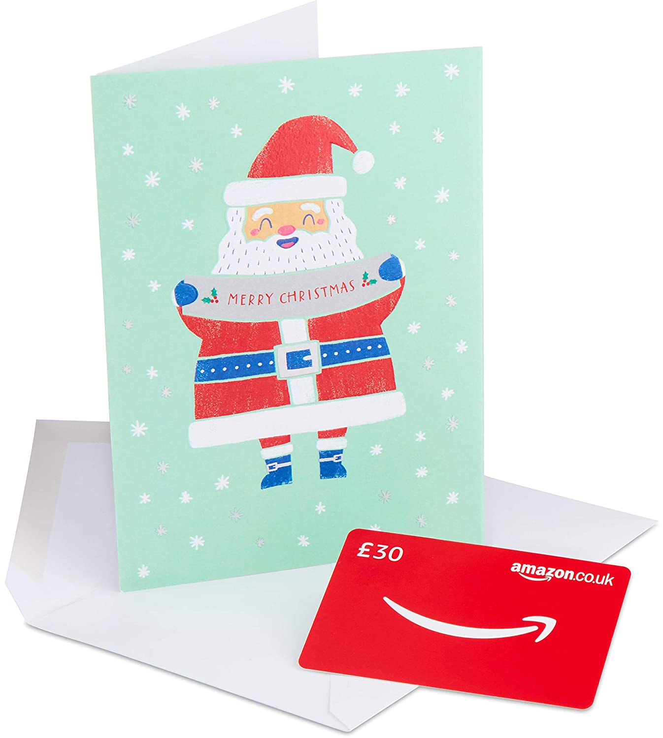 Amazon.co.uk Gift Card In a Premium Greeting Card - FREE One-Day Delivery Amazon EU S.à.r.l. Fixed