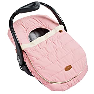 JJ Cole Car Seat Cover, Blush Pink