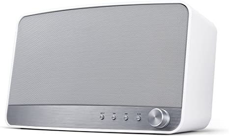 Pioneer Wireless Multiroom Speaker, MRX 3 W, Streaming, Wi Fi, Bluetooth, Music Apps with FlareConnect, DTS Play Fi, Internet Radio, Pioneer Remote