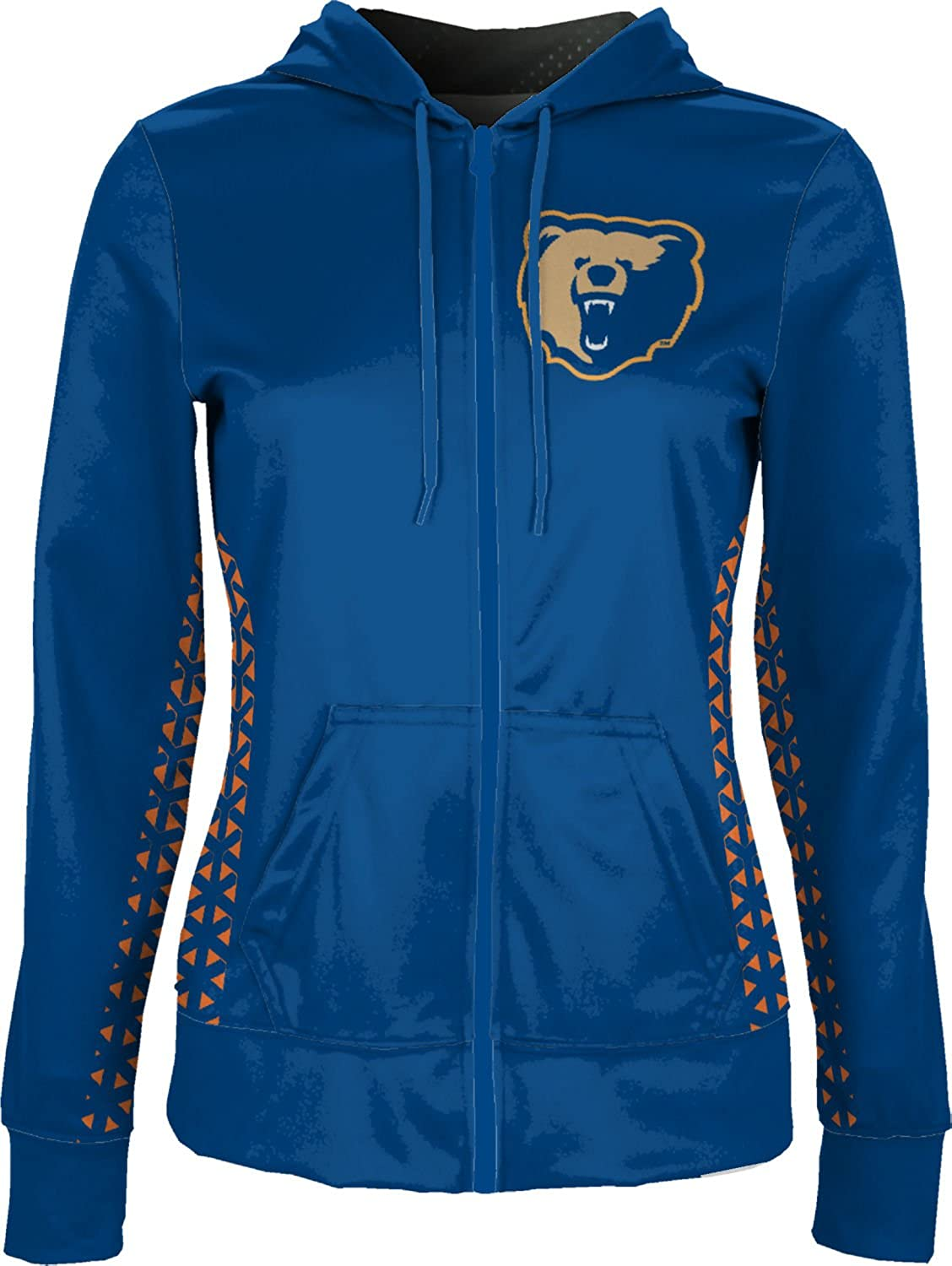 Geo ProSphere Morgan State University Girls Zipper Hoodie School Spirit Sweatshirt